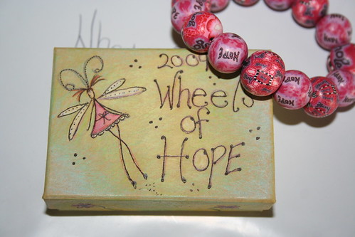 my donation for Wheels of Hope by you.