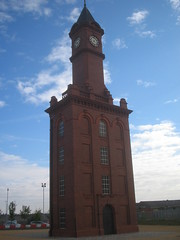 MIddlesbrough Docks Clock Tower