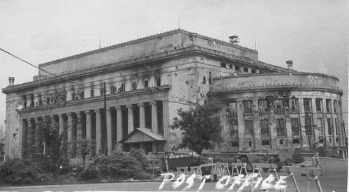 Manila Central Post Office Post War