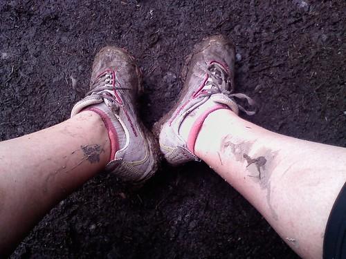 After a Muddy Trail Run