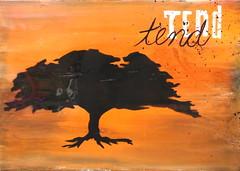 Tend I (10x16) $55