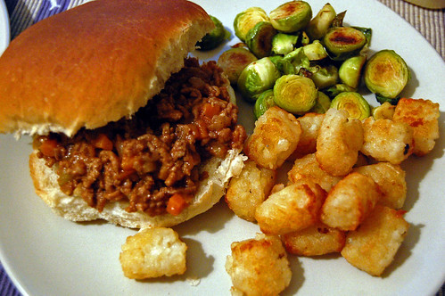 Sloppy Joes for Dinner