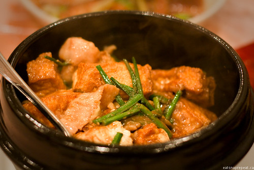 Poco Ocean 海富小館 - Tofu and Pork Neck meat in Shrimp paste