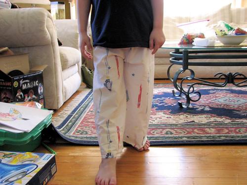 Pillowcase pants