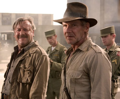 harrison ford en indiana jones 4 por ti.