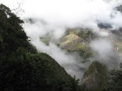 Le Machu Picchu vu depuis le sommet du Wayna Picchu