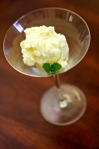 Fresh Mint Ice Cream
