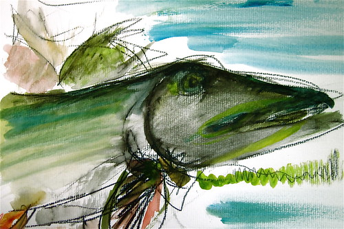Pike Painting