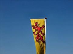 vlag van de provincie Zuid Holland