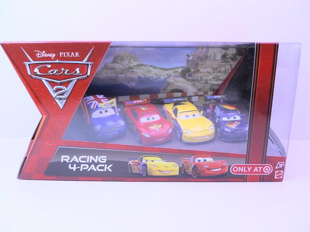 disney cars 2 racing 4 pack
