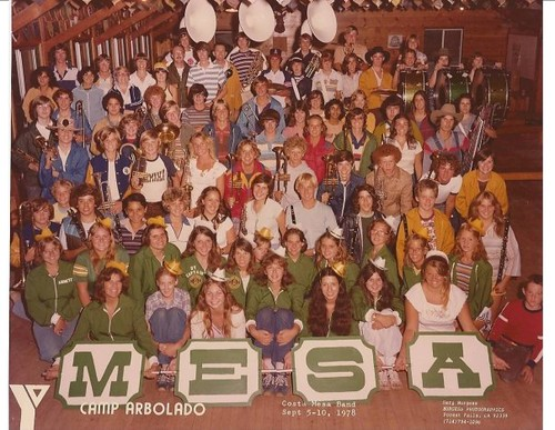 OMFG its CMHS Band Camp 1978