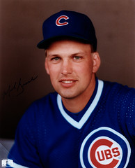Mark Grace 8x10 1988 Signed