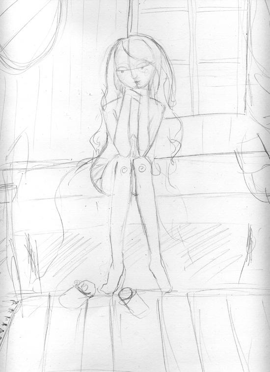sketch step 1
