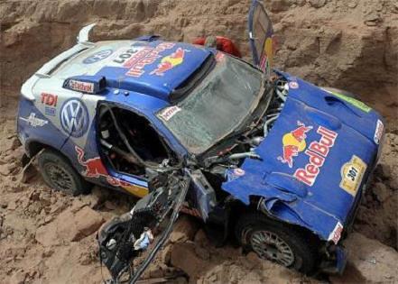 Abandono Sainz Dakar 09 12 by you.