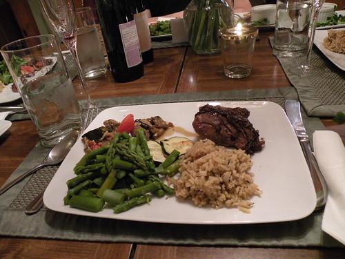 Mmmm, Passover Seder Dinner (minus the chicken) - DSCN6842