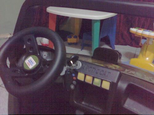 real car key in powerwheel