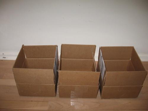 Three Empty Boxes #1