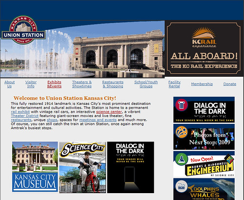 Kansas City Union Station Web Page