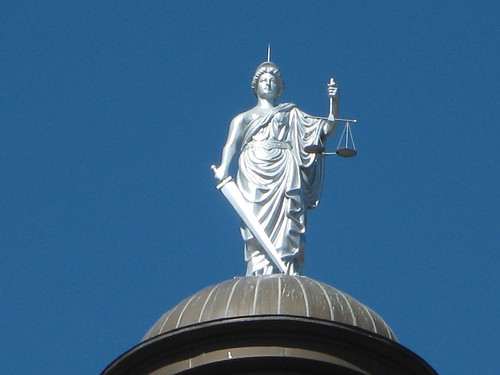 Lady justice - close up