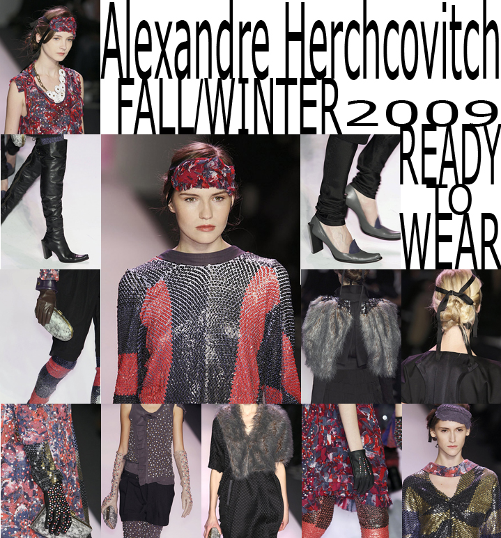 Alexandre Herchcovitch Fall/Winter 2009 Ready-To-Wear By Coeur de Lion Magazine