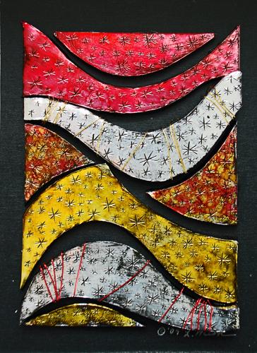 untitled 5x7 mixed media (c) 2009, Lynne Medsker