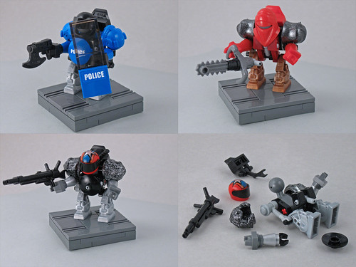 LEGO hardsuits by Larry Lars