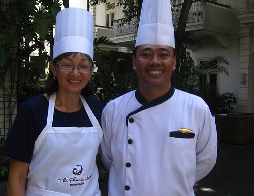 with Chef Totok