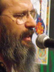 Steve Earle close-up
