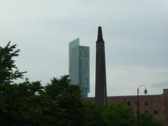 very tall chimney