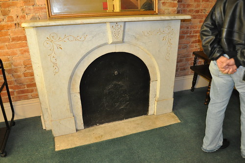Fireplace, 2nd floor, back room