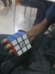 Rubik's cube solved by Gopal