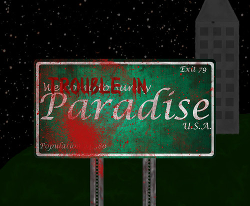 Trouble in Paradise... Now with a building!