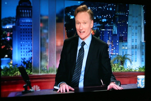 Conan O'brien's First Night