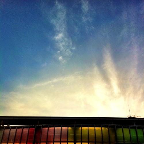 奈良の空。 今日も一日、お疲れ様でした。#sky