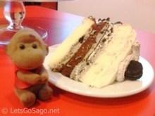 Sago drools over Cookies & Cream Cake