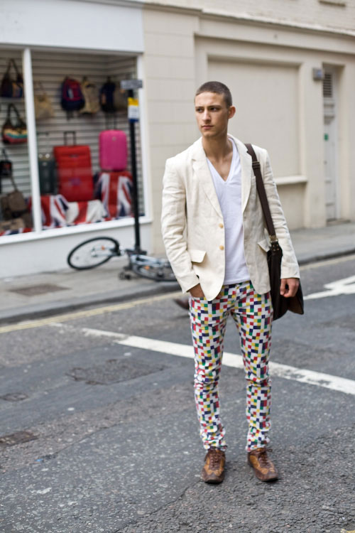 Pixel trousers - Oxford St