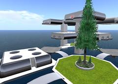 Housing pods on Extropia