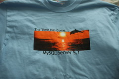 MySQL 5.1 Release T-shirt (Front)