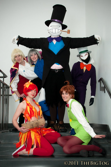 Howl's Moving Castle Cosplay Group, Anime Boston 2011