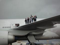 Branson Raises Champagne