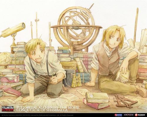 Irmãos Elric - Alphonse e Edward