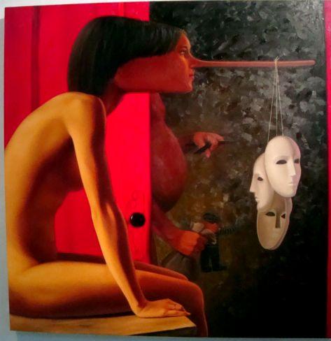 the man behind the red door