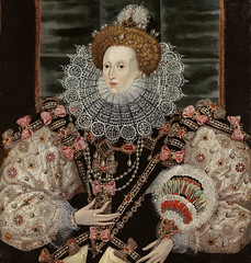 Portrait of Elizabeth I (1533 - 1603) The Arma...
