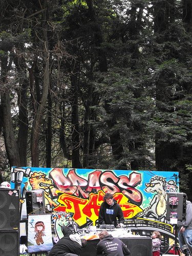 The Brass Tax free party in Golden Gate Park 2