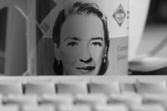 Grace Hopper behind my keyboard