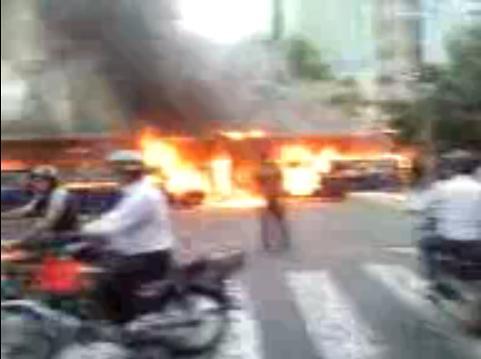 Rioting in Tehran