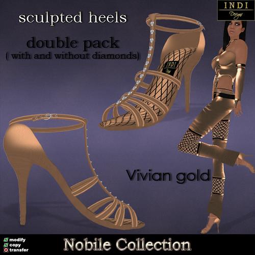 """Nobile """"Vivian"""" heels"""