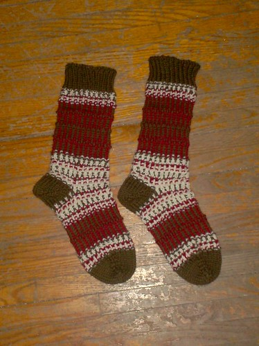 Naniboujou Socks, complete