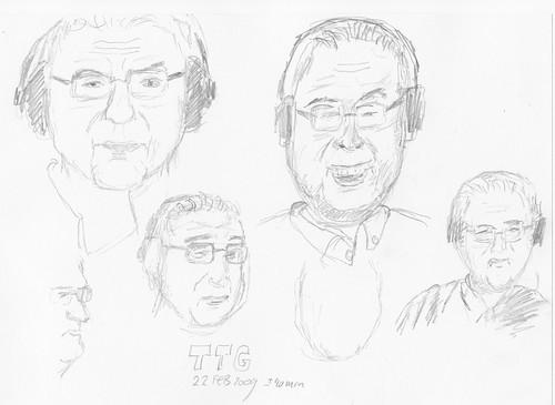 Drawing Leo Laporte - TTG 2009-02-22