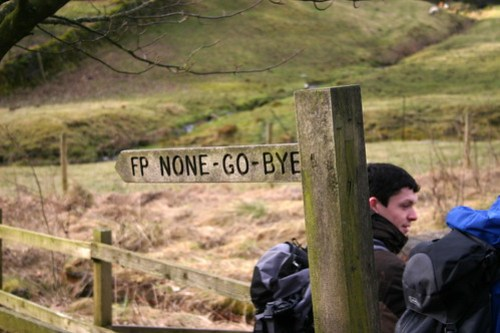 Footpath to None-go-Bye